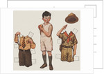 Paper doll boy with scouts uniform by Corbis