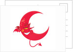 Devil Moon Asleep by Corbis
