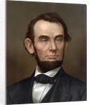 Portrait of Abraham Lincoln by Corbis
