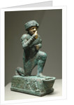 Statuette of worshipper of Larsa by Corbis