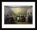 General George Washington Resigning His Commission by John Trumbull