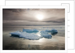 Melting Sea Ice, Svalbard, Norway by Corbis