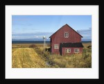 Red Barn, Cacouna, Quebec, Canada by Corbis