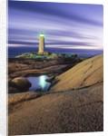 Peggy's Cove Lighthouse, Nova Scotia, Canada. by Corbis