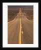 USA, California, Death Valley- Long Shot of Desert Highway by Corbis
