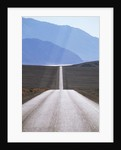 USA, California, Death Valley Roadway by Corbis