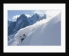 Backcountry skier by Corbis