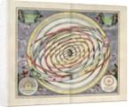 Plate 3 from Harmonia Macrocosmica by Andreas Cellarius