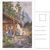 Austrian Red Cross card from WWI by Corbis