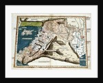 15th century map of Middle East by Corbis