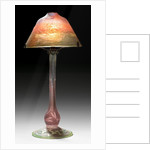 Art Nouveau glass lamp by Corbis