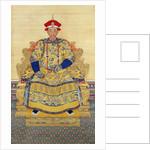 Portrait of emperor Kangxi by Corbis