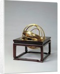 Armillary sphere by Ferdinand Verbiest
