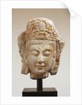 Head of Bodhisattva by Corbis