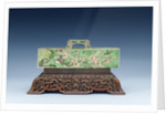 Qing Dynasty scroll weight by Corbis