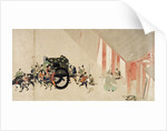 Emperor Nijo escaping from the Imperial Palace by Corbis