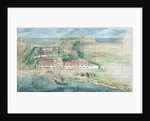 Painting of Fort Zeelandia by Corbis
