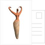 Egyptian Predynastic female figurine by Corbis