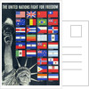 The United Nations Fight for Freedom poster by Corbis