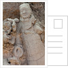 Broken terracotta soldier at Qin Shi Huangdi Tomb by Corbis