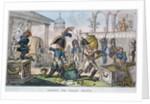 Seizing the Italian Relics by George Cruiskshank