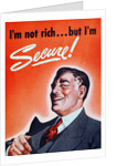 Financially secure man by Corbis