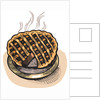 Cartoon drawing of a freshly baked pie by Corbis