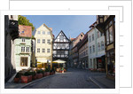 Germany, Harz Mountains, Quedlinburg, Timber-framed houses by Corbis