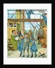 English family travelling to France by Corbis