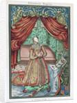 Elizabeth I at prayer by Corbis