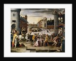 Arrest and Execution of Thomas More Chancellor to Henry VIII of England by Antoine Caron