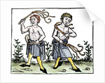 Flagellants whipping themselves by Corbis