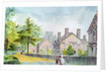 Workers' cottages at Bournville by Corbis