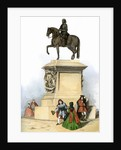 Equestrian statue of Charles I in Charing Cross by Corbis