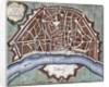Plan of the city of Cologne by Corbis