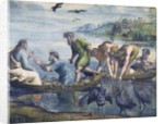 Cartoon for The Miraculous Draught of Fishes by Raphael and studio