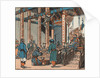 Marco Polo ends his journey in front of Mongol leader Kublai Khan by Corbis