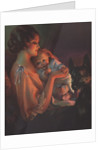 Mother holding baby by Corbis