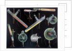 Substances fluorescing in vacuum tubes by Corbis