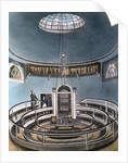 Anatomy theater at University of Cambridge by Corbis