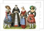 Swiss costumes by Corbis