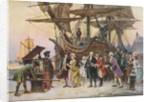 Benjamin Franklin's Return to Philadelphia by Corbis