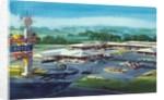 Mississippi motel by Corbis