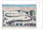 Procession of criminals sentenced by Inquisition of Lisbon by Corbis