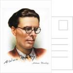 Aldous Leonard Huxley by Corbis