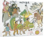 Battle between Nuno de Guzman and inhabitants of Michuacan by Corbis