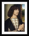 Portrait of a Young Man Praying by Hans Memling