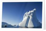 Iceberg in Disko Bay in Greenland by Corbis