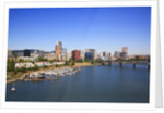 Portland Riverplace Marina, Portland, Oregon by Corbis