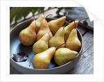 Bowl of Pears by Corbis